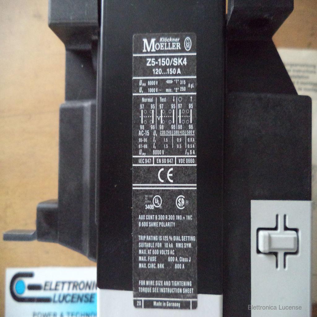 MOELLER-Z5-150SK4-3