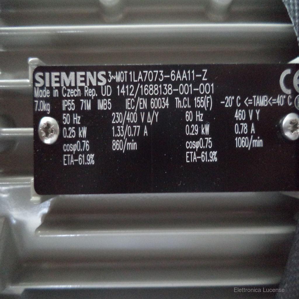 SIEMENS-1LA7073-6AA11-Z-3