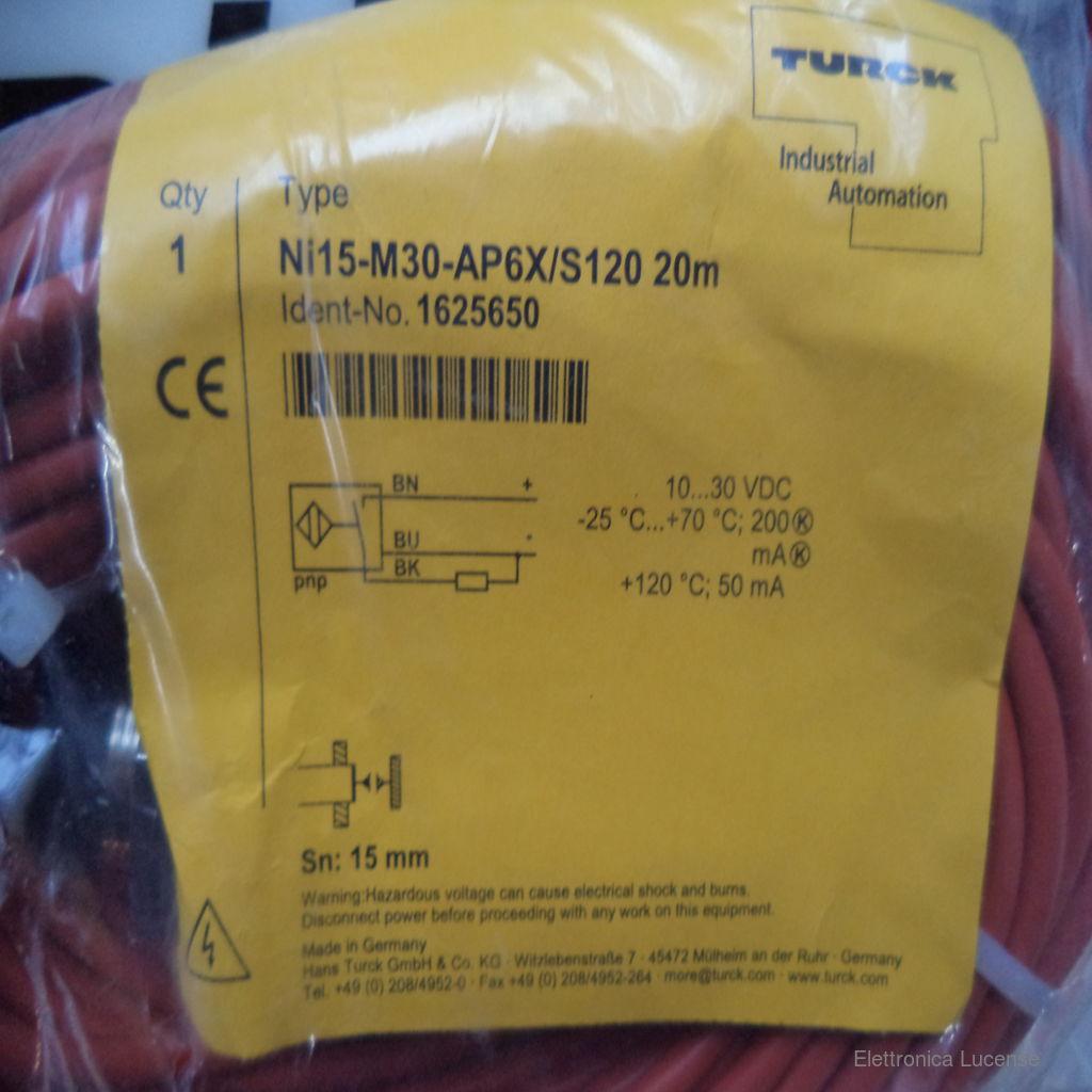 TURCK-NI15-M30-AP6X-S120-20M-2